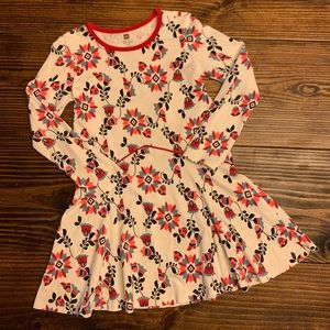 Tea Collection Long Sleeve Floral Dress